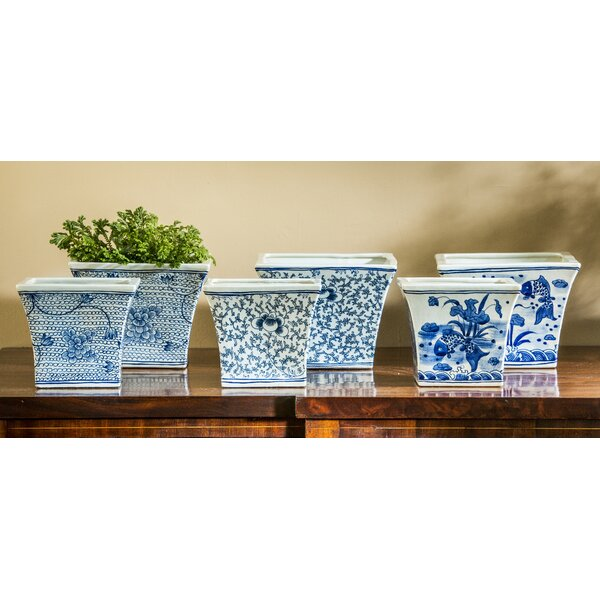 Karoline Square Flared Planter (Set of 6) by Darby Home Co