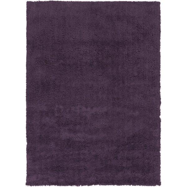 Hallum Dark Purple Taupe Rug by Wrought Studio
