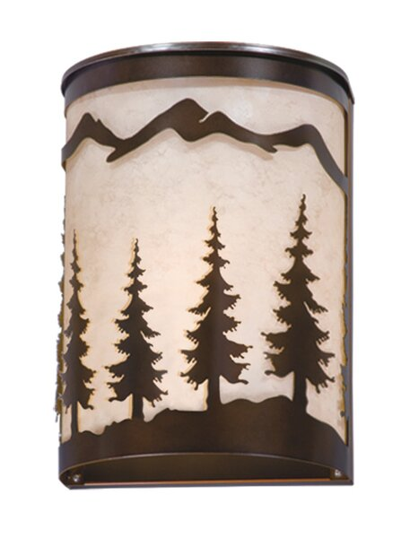 Jennings 1-Light Wall Sconce by Loon Peak