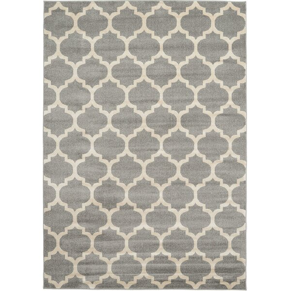 Brooklyn Gray/Ivory Area Rug by Rugs America