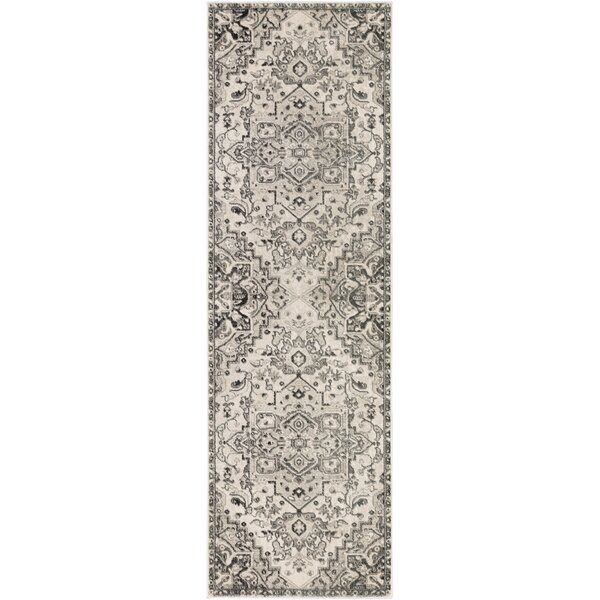 Alley Camel/Ivory Area Rug by House of Hampton