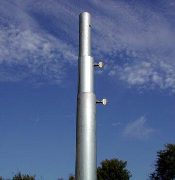 Heavy Duty 3 Section Telescoping Pole by Birds Choice