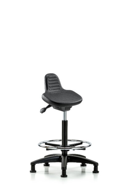 Dax Height Adjustable Lab Stool by Symple Stuff