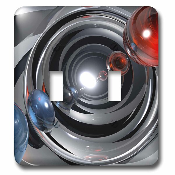 3drose Shows Abstract Camera Lens Streaming Colors 2 Gang Toggle Light Switch Wall Plate Wayfair