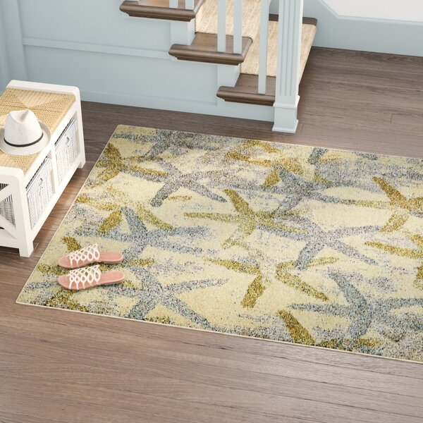 Ethel Beige Area Rug by Bayou Breeze