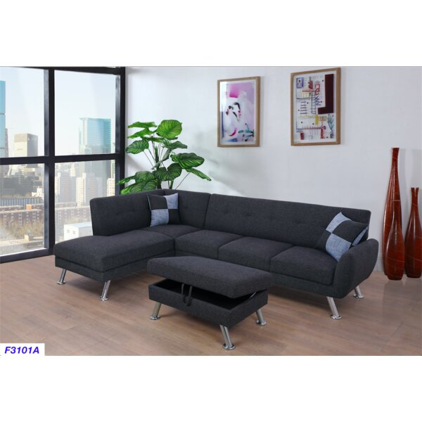 Warfield Sectional with Ottoman by Latitude Run