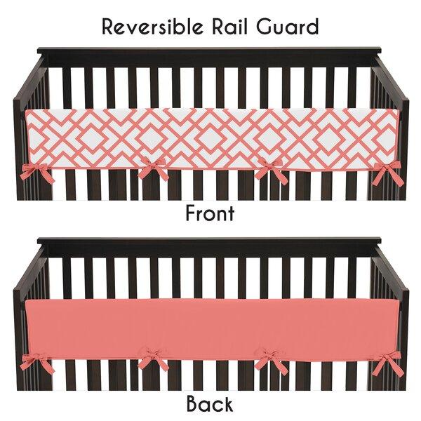 Mod Diamond Crib Rail Guard Cover by Sweet Jojo Designs