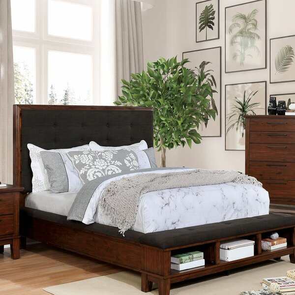Crissyfield Upholstered Storage Standard Bed by Union Rustic