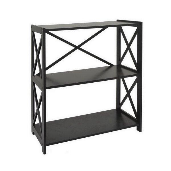 Ratcliff Wood Shelf Etagere Bookcase by Charlton Home
