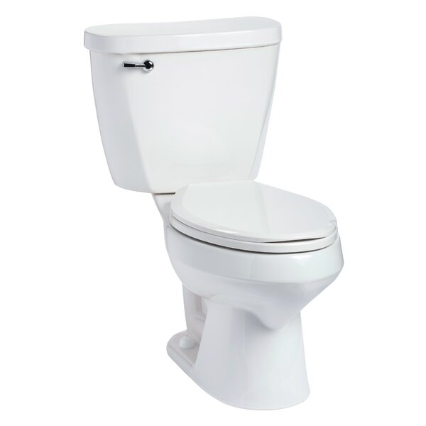 Summit 1.28 GPF Elongated Two-Piece Toilet by Mansfield Plumbing Products