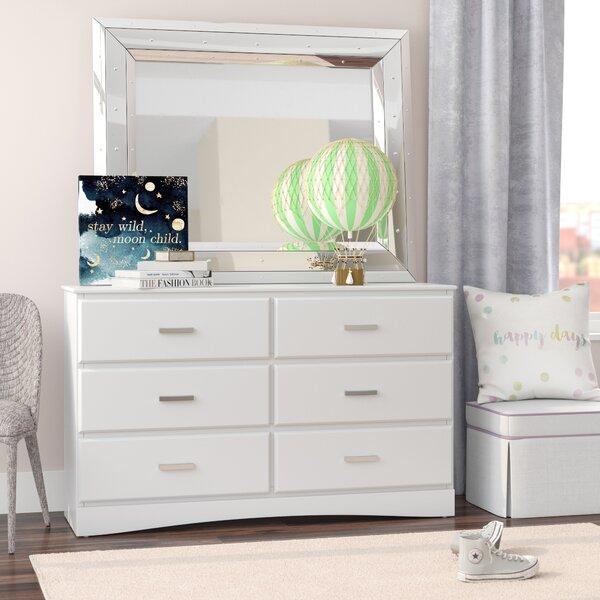Alzado Modern 6 Drawer Double Dresser by Mack & Milo