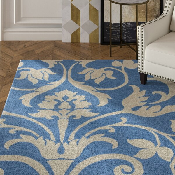 Southwell Hand-Tufted Blue Area Rug by House of Hampton