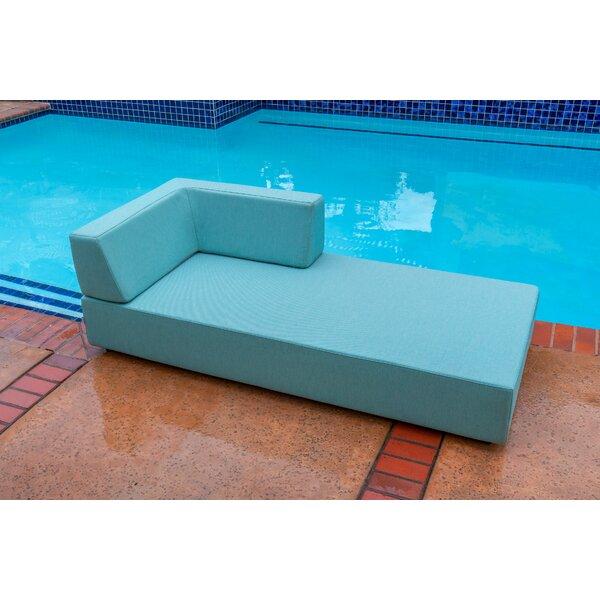 Takia Chaise Lounge with Cushion