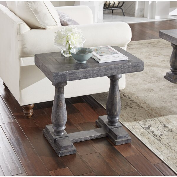 Squire Square End Table By Three Posts Amazing