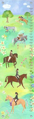 Horse Show Growth Chart by Oopsy Daisy