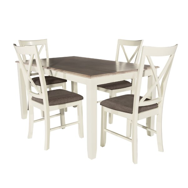 Amaury 5 Piece Dining Set By Laurel Foundry Modern Farmhouse