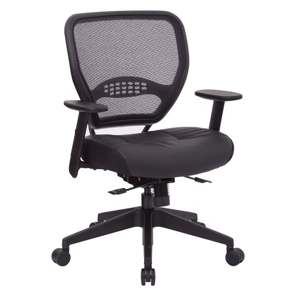 Space Seating® Mid-Back Mesh Desk Chair by Office Star Products
