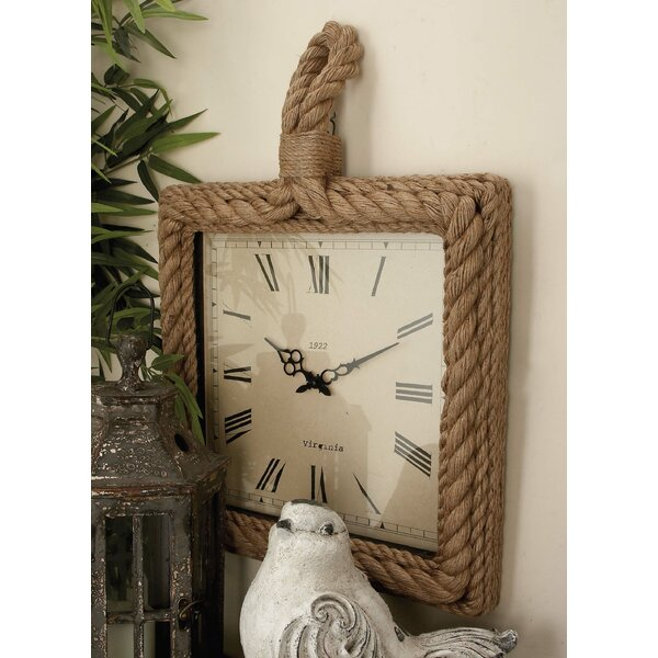 Rope Wall Clock by Cole & Grey