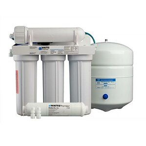 5-Stage Reverse-Osmosis Filtration System by Watts Premier