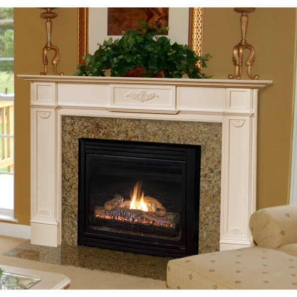 The Monticello Fireplace Mantel Surround by Pearl Mantels