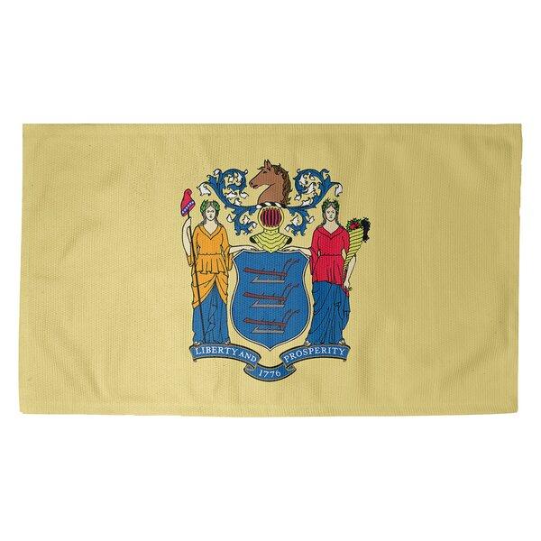 Fawcett New Jersey Flag Dobby Indoor Doormat