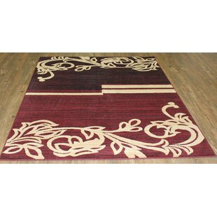 Order LifeStyle Burgundy/Beige Area Rug By Rug Factory Plus