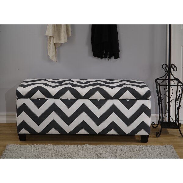 Lailah Upholstered 32 Pair Shoe Storage Bench by Winston Porter Winston Porter