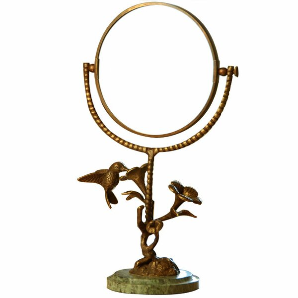 Bird Humming and Flower Mirror by SPI Home
