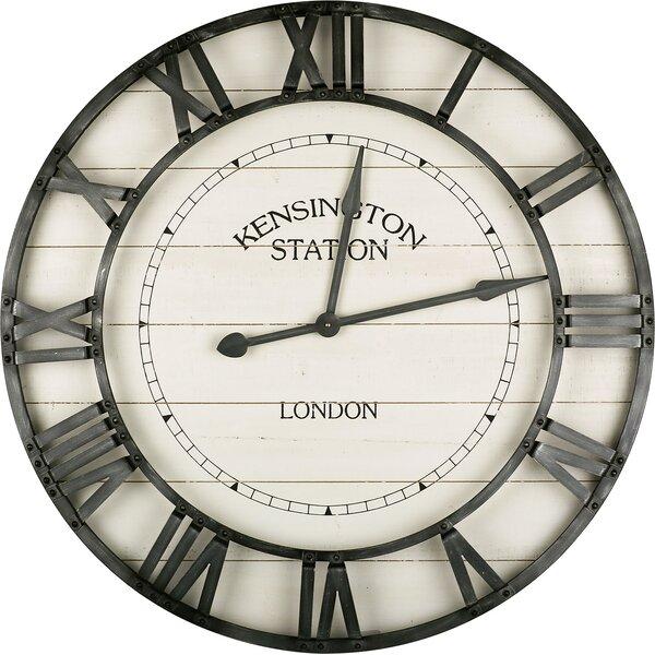 Oversized Hermilda Industrial 36 Wall Clock by Gracie Oaks