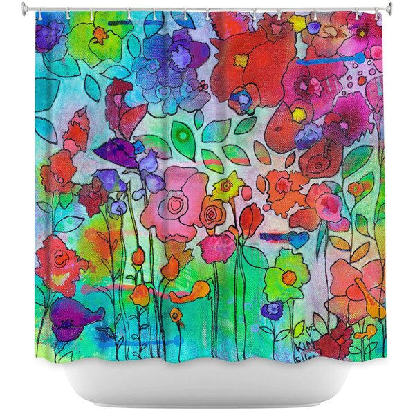 Waiting For Spring Shower Curtain by East Urban Home