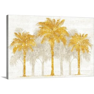 'Palm Coast I' by Sue Schlabach Graphic Art on Wrapped Canvas by Great Big Canvas