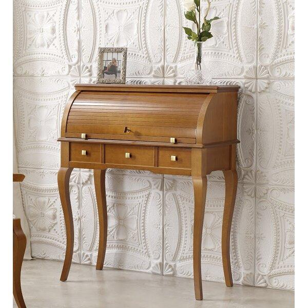Dewayne Secretary Desk with Hutch by Canora Grey
