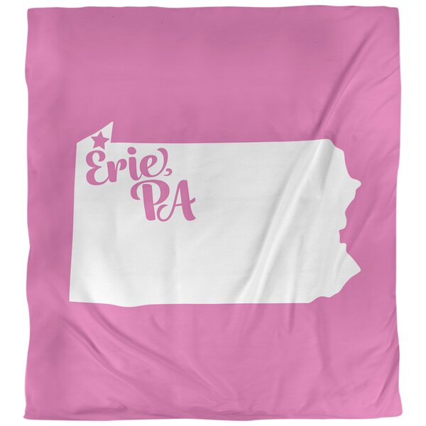 Erie Pennsylvania Single Reversible Duvet Cover