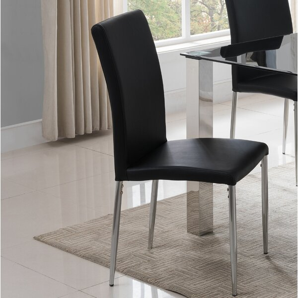 Rolf Upholstered Dining Chair (Set of 2) by Wrought Studio