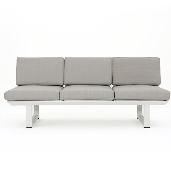 Lobdell Patio Sofa with Cushions by Latitude Run