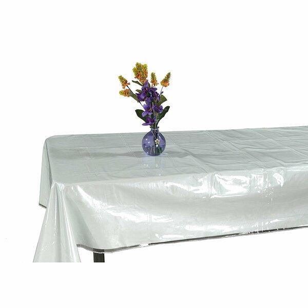 Kleio Heavy Duty Plastic Tablecloth by Symple Stuff