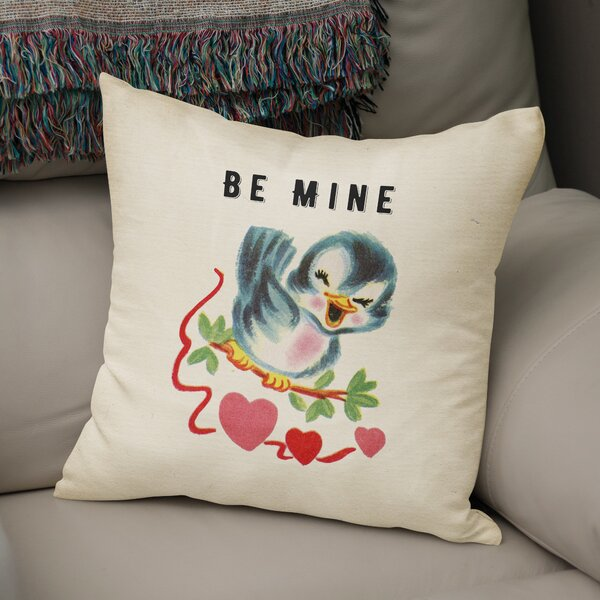 Be Mine 2 Indoor Accent Pillow by KAVKA DESIGNS