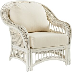 Plantation Chair with Cushion South Sea Rattan