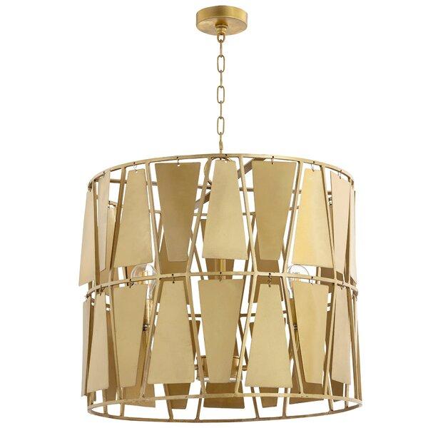 3 - Light Statement Drum Chandelier By Cyan Design