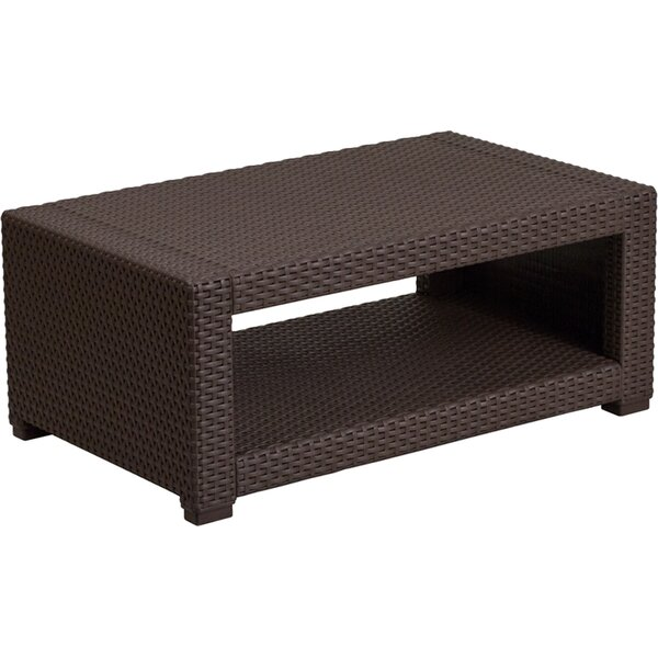Telvin Rattan Coffee Table by Latitude Run
