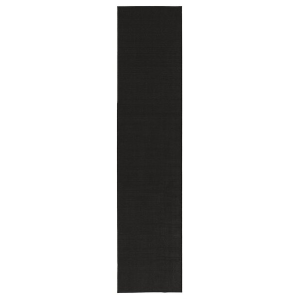 Machine Woven Black Indoor Area Rug by Ottomanson