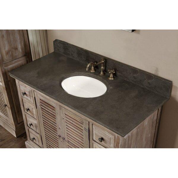 Clemmie 48 Single Bathroom Vanity Set by Laurel Foundry Modern Farmhouse