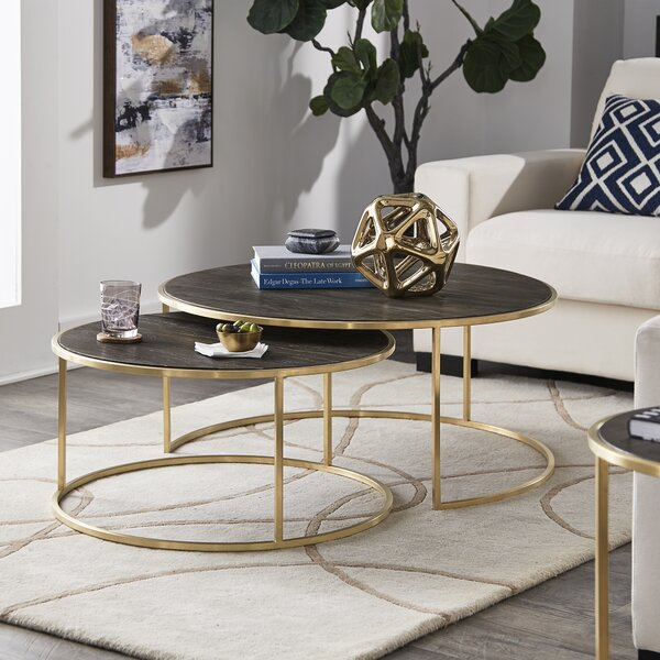 Dupont 2 Piece Coffee Table Set By Everly Quinn