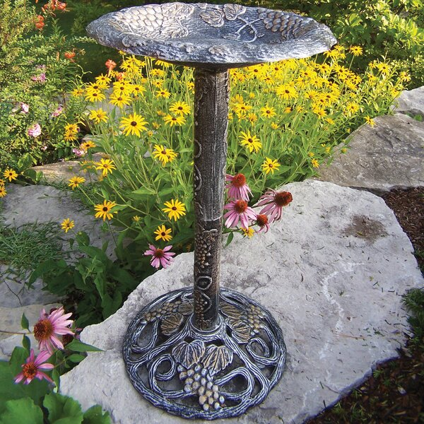 Vineyard Birdbath by Oakland Living