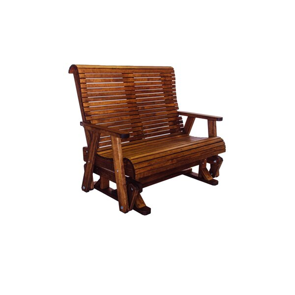 Pottorff High Back Glider Bench by Loon Peak