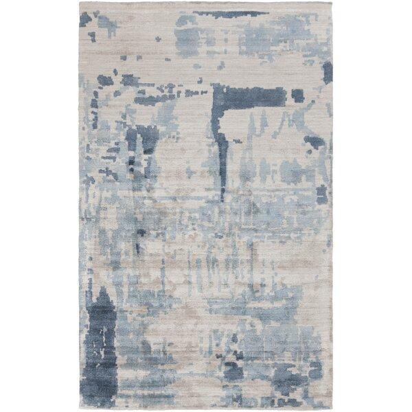 Mcgee Abstract Hand-Loomed Wool Gray Area Rug