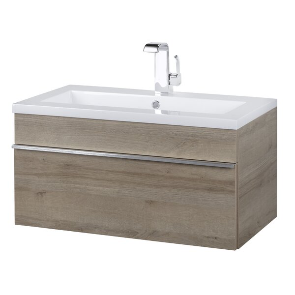 Trough 30 Wall Mounted Single Bathroom Vanity Set by Cutler Kitchen & Bath