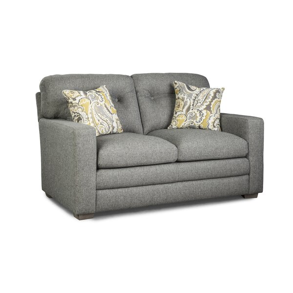 Nitya Button Tufted Loveseat by Red Barrel Studio
