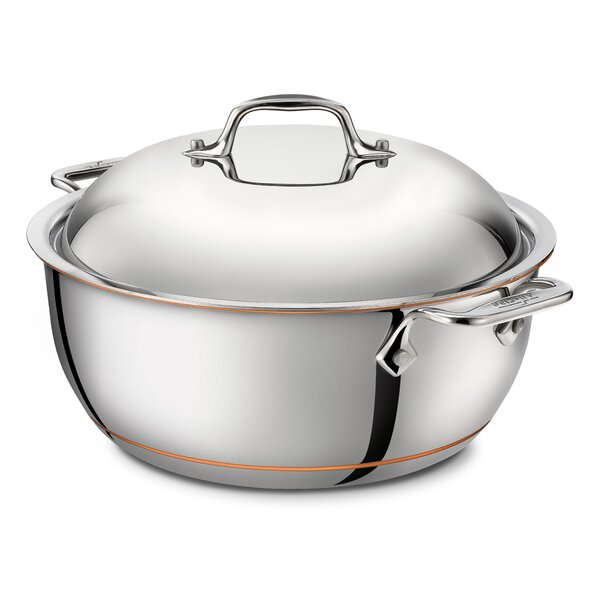 5.5 Qt. Stainless Steel Round Dutch Oven by All-Clad