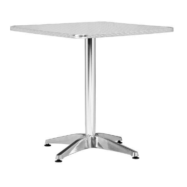 Whitmore Aluminum Dining Table by Orren Ellis